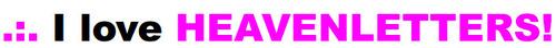 I love Heaven banner